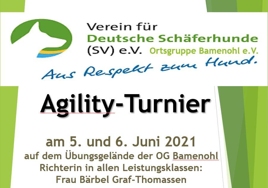 Agilityturnier 2021